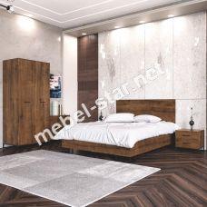 Модульная спальня Аскет B4 дуб саттер