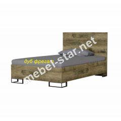 Полуторная, двуспальная кровать Аскет