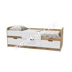Детская кровать Binky 10 А дуб тахо