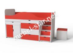 Детская кровать чердак Binky 37А
