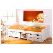 Кровать односпальная Floro с ящиками