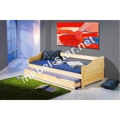 Кровать с добавочным спальным местом Laura