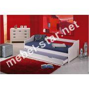 Кровать с добавочным спальным местом Leonie