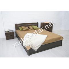 Двуспальная, полуторная кровать из дерева София люкс