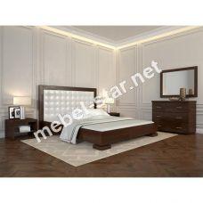 Двуспальная кровать Подиум ромбы