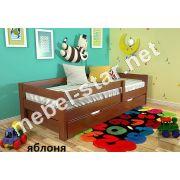 Кровать подростковая из дерева Альф сосна, бук