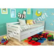 Детская и подростковая  кровать Немо сосна, бук