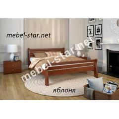 Двуспальная, односпальная кровать из массива дерева  Акцент