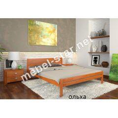 Двуспальная, односпальная деревянная кровать Роял
