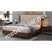Двуспальная деревянная кровать Сиена
