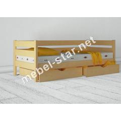 Детская подростковая кровать из дерева бук Амели
