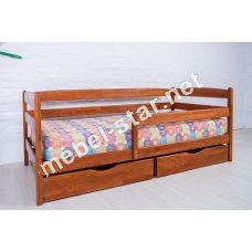 Подростковая кровать из дерева бук Марио люкс