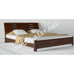 Двуспальная, полуторная кровать из дерева Марита S бук