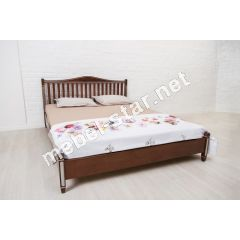 двуспальная кровать из дерева Монако бук