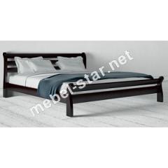 Двуспальная, полуторная кровать из дерева Соната бук