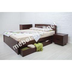 Односпальная, двухспальная кровать Лика Люкс с ящиками