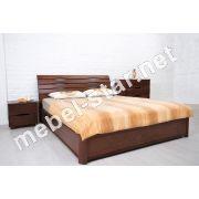 Двуспальная, полуторная кровать Марита N бук
