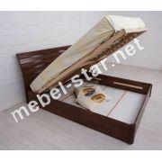 Двуспальная кровать Марита N с подъемным механизмом