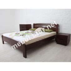 Односпальная, двухспальна кровать Нова Лайт бук