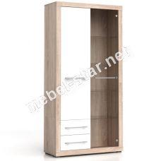 Шкаф-витрина BIGI 1D2S