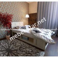 Односпальная кровать Элисон массив