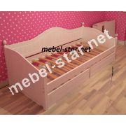 Детская и подростковая кровать из дерева Домиан Люкс