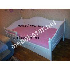 Детская и подростковая кровать из дерева Домиан