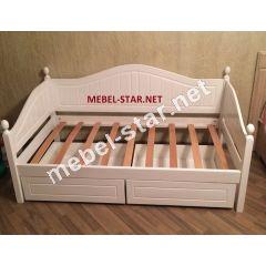Детская и подростковая кровать из дерева Домиан Макси