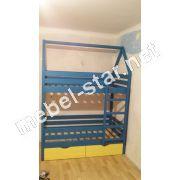 Двухъярусная кровать домик Пумба