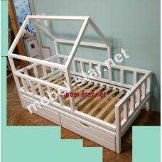 Детская кровать домик Франек