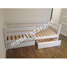 Детская и подростковая  кровать из дерева Эмма
