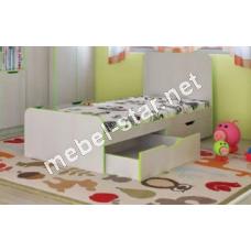 Детская, подростковая кровать Маттео с ящиками