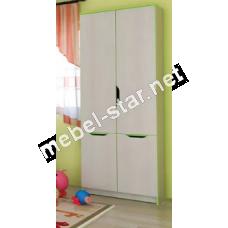 Шкаф книжный Маттео 4Д