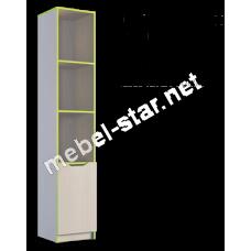 Шкаф книжный Маттео 1Д