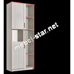 Шкаф книжный Рио 2Д