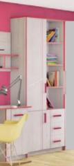 Шкаф книжный Рио 2Д3Ш