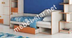 Подростковая кровать Санта с ящиком