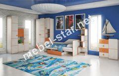 Детская модульная мебель Санта