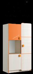 Шкаф книжный Санта 3Д