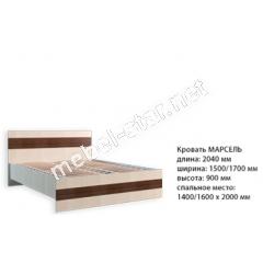 Двуспальная кровать Марсель