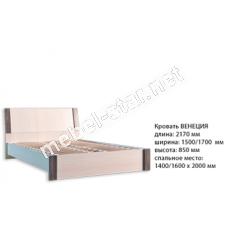 Двуспальная кровать Венеция ДСП