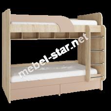 Двухъярусная детская кровать Юниор