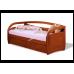 Подростковая кровать из дерева Бавария с ящиками