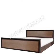 Односпальная, двуспальная кровать Коен МДФ