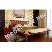 Двуспальная кровать из дерева Модерна