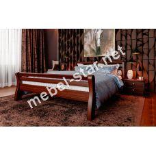 Односпальная, двуспальная кровать из дерева Ретро