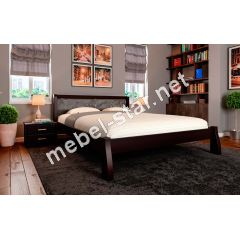 Двуспальная кровать из дерева Ретро М