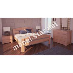 Односпальная, двуспальная кровать Гавана ясень