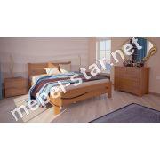 Односпальная, двуспальная кровать Женева  ясень