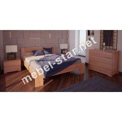 Односпальная, двуспальная кровать Лондон ясень